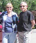 Mike Royer and his wife
