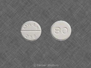 Image of Furosemide 80 mg-MYL