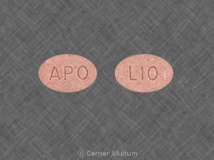 Image of Lisinopril 10 mg-APO
