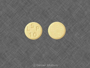 Image of Lisinopril 10 mg-SAN