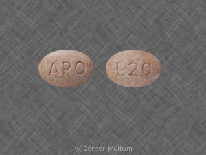 Image of Lisinopril 20 mg-APO