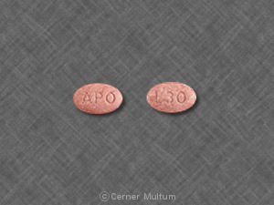 Image of Lisinopril 30 mg-APO